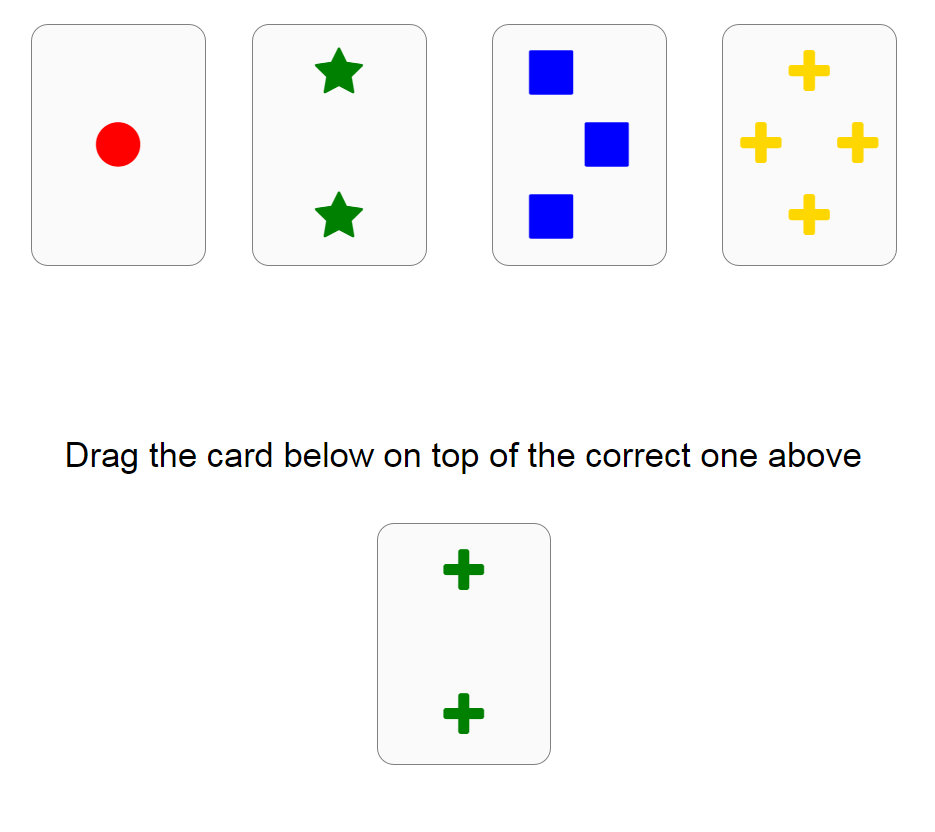 NeuroTask Card Sorting Test