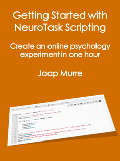 Getting Started with NeuroTask Scripting book